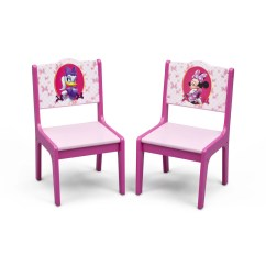3 Piece Table And Chair Set Personalized Beach Chairs For Toddlers Delta Children Minnie Mouse Kids