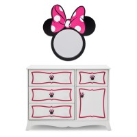Delta Children Disney Minnie Mouse Panel 4 Piece Bedroom ...