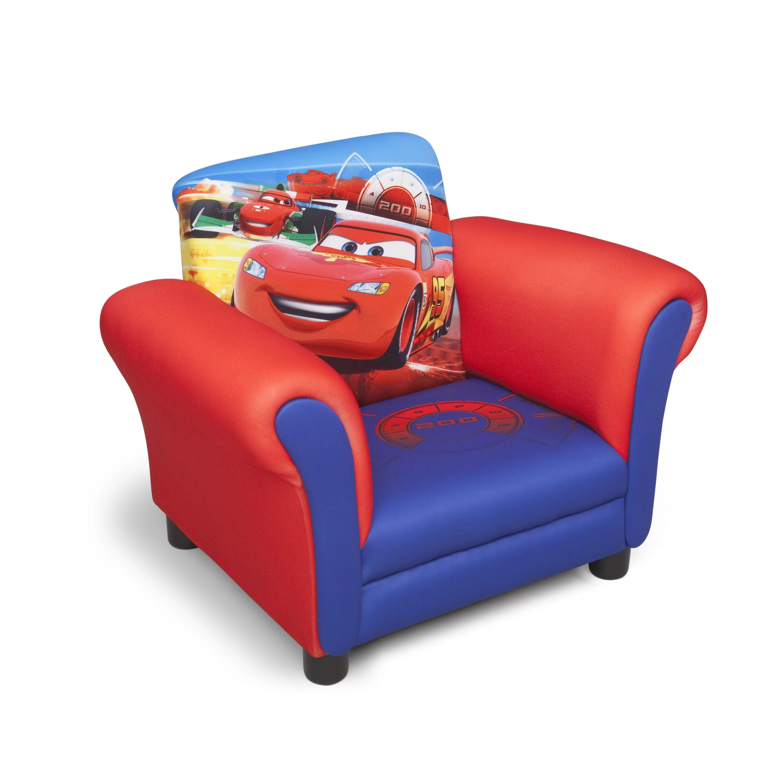 cars sofa chair 3pc rattan garden set delta children disney pixar 39s 2 kids club