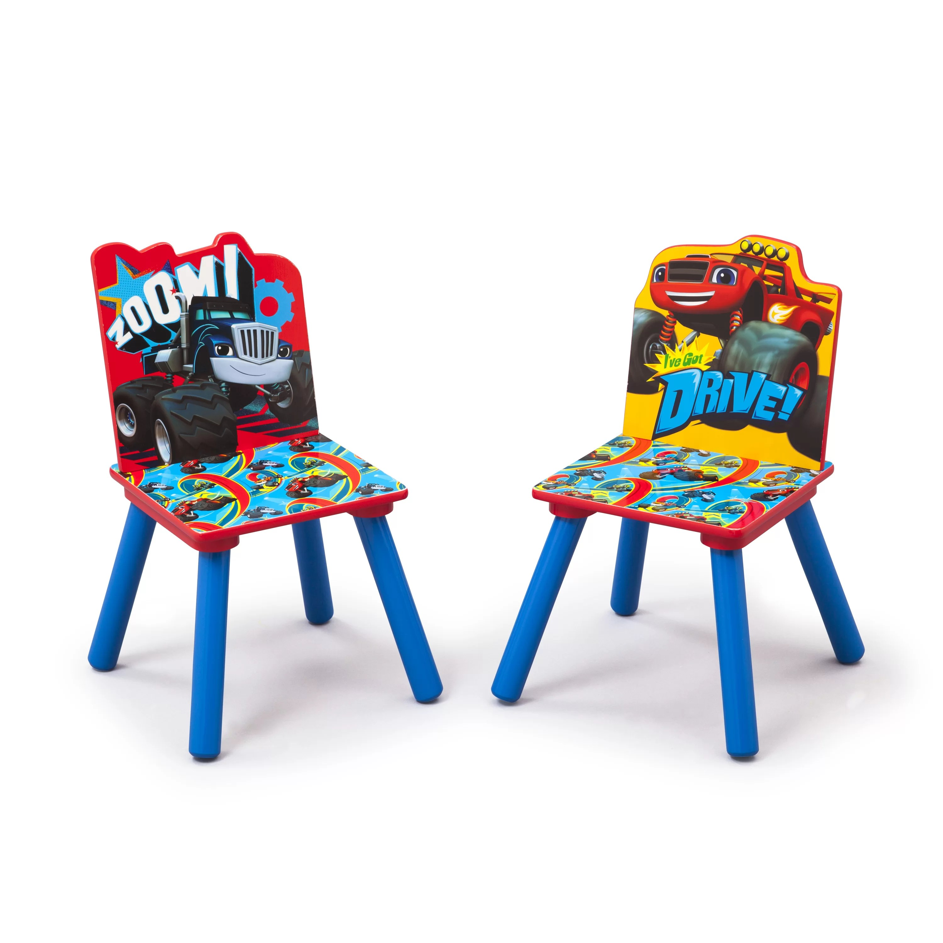 safety 1st 5 piece childrens table and chair set lift recliner accessories delta children nick jr kids 3 blaze the monster