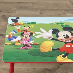 Mickey Mouse Chairs And Table Chair Covers Morecambe Delta Children Kids 3 Piece