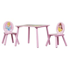 3 Piece Toddler Sofa Set Used Leather Delta Children Disney Princess Kids Table And Chair
