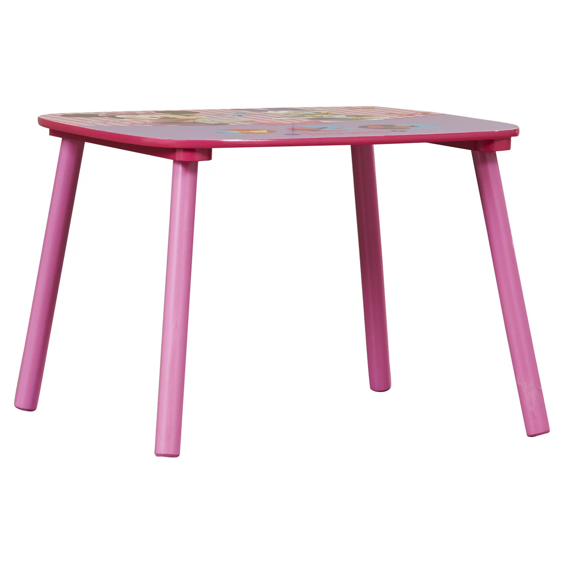 minnie table and chairs computer desk chair walmart delta children mouse kids 3 piece