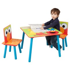 Safety 1st 5 Piece Childrens Table And Chair Set Outdoor Dining Delta Children Sesame Street Kids 39 3