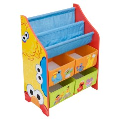 Sesame Street Table And Chairs Small Chair Mat Delta Children Book Toy Organizer