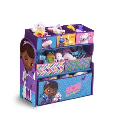 Doc Mcstuffin Chair Portable Wheel Ramps Delta Children Mcstuffins Multi Bin Storage Organizer