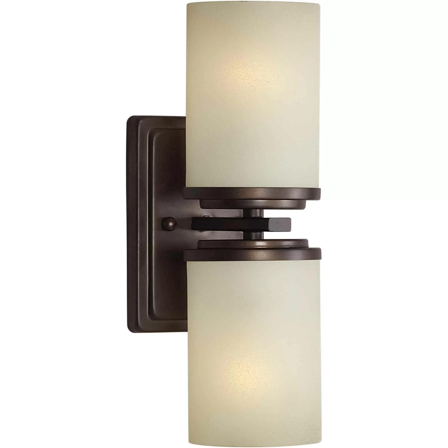 Forte Lighting 2 Light Wall Sconce & Reviews