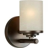 Forte Lighting 1 Light Wall Sconce & Reviews   Wayfair