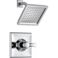 Delta Dryden Diverter Shower Faucet with Lever Handle