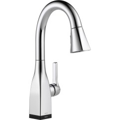 Delta Touchless Kitchen Faucet Layout Planner Grid Mateo Single Handle Deck Mounted Bar