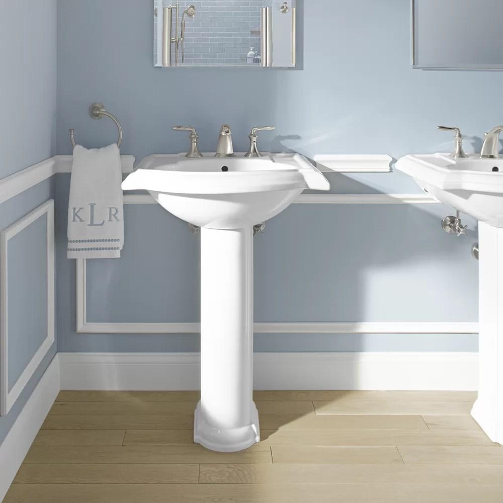 Kohler Devonshire 24 Pedestal Bathroom Sink  Reviews