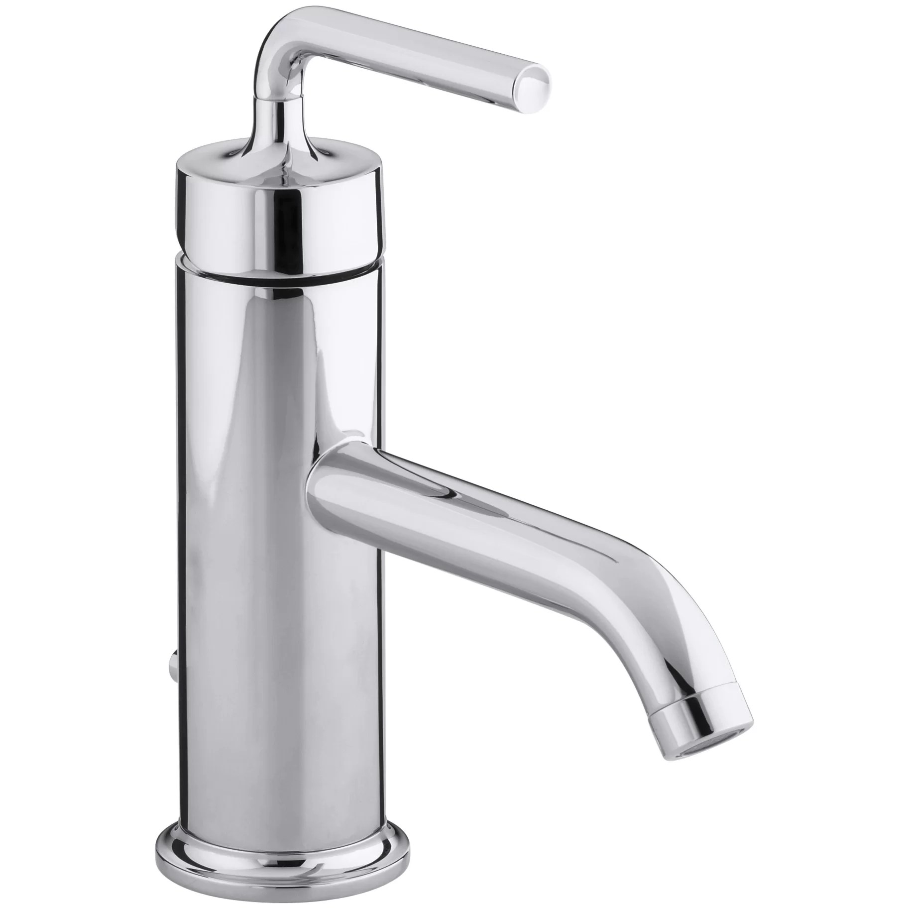 purist kitchen faucet countertop prices kohler single hole bathroom sink with
