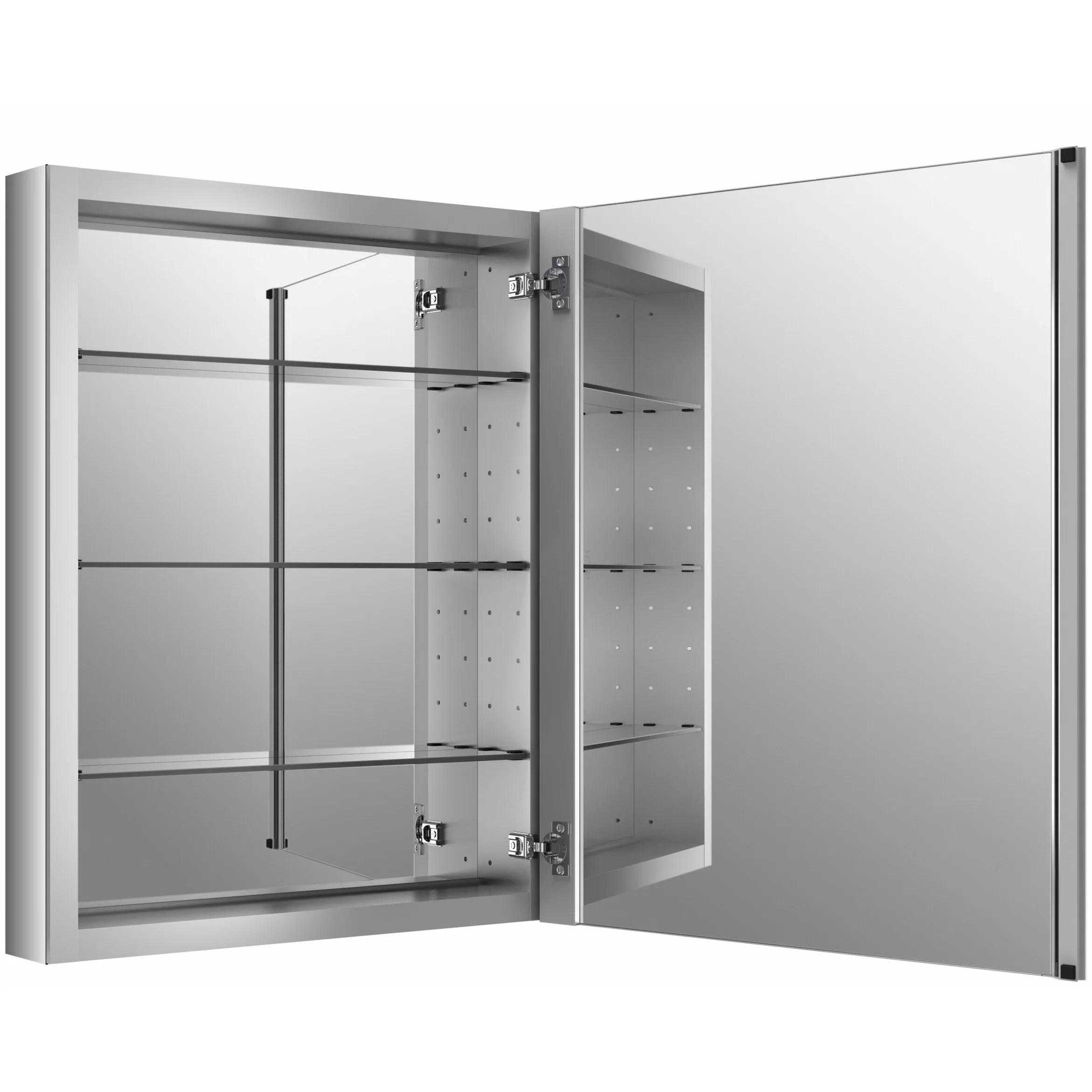 Kohler Verdera 24 W x 30 H Aluminum Medicine Cabinet