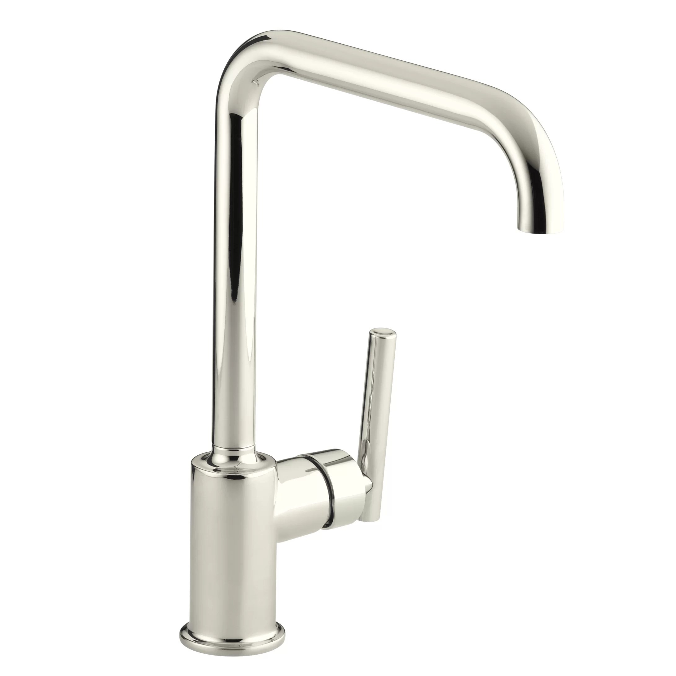 kitchen faucet kohler best design websites purist single hole sink with 8