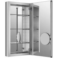 """Kohler Verdera 15"""" W x 30"""" H Aluminum Medicine Cabinet ..."""
