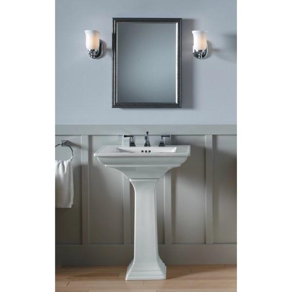 Kohler Memoirs Pedestal Sink Bathroom