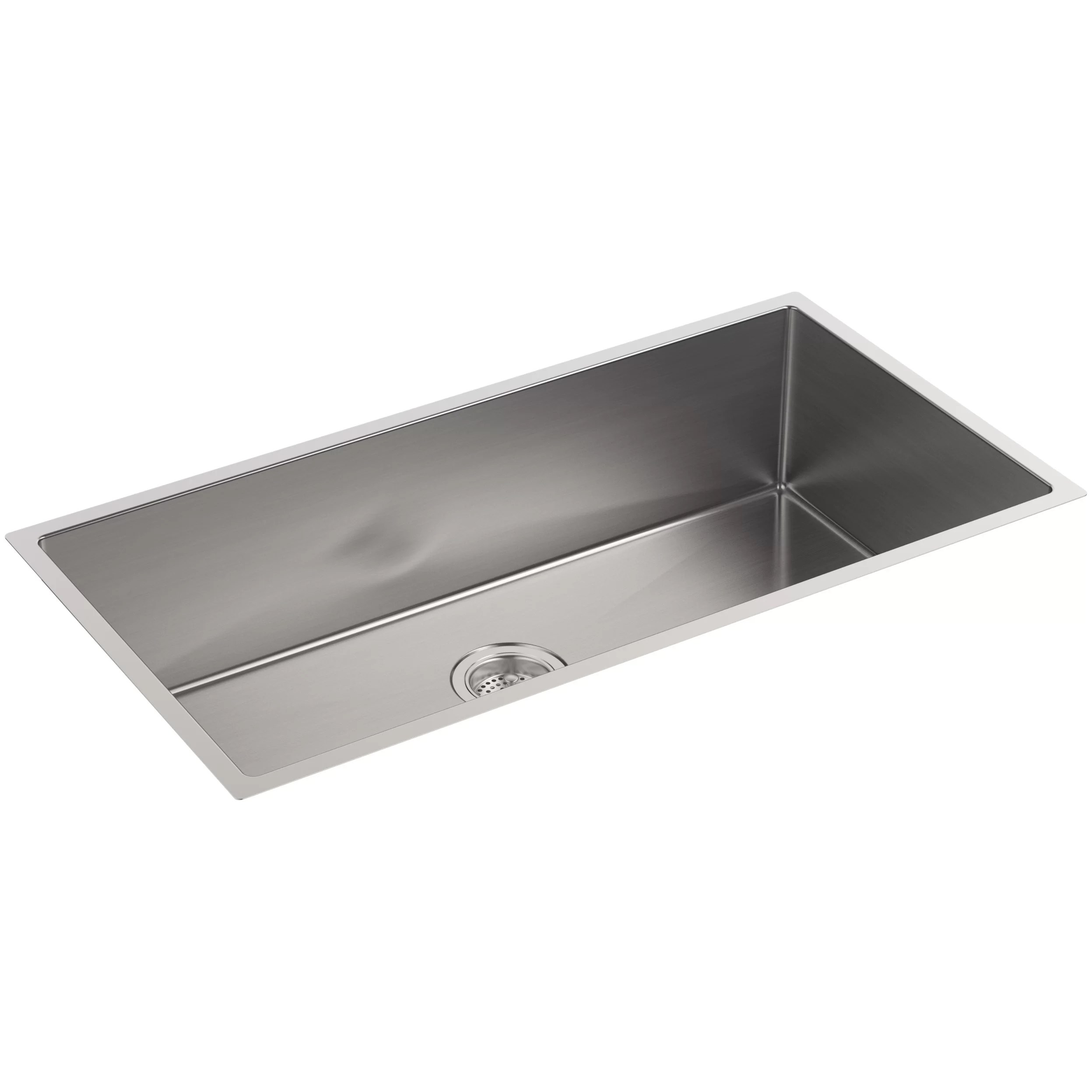 extra large kitchen sink ventilation fan kohler strive 35 quot x 18 5 16 9 under mount