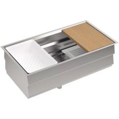 Kohler Kitchen Sink Accessories Pro Style Faucet Prolific 33 Quot X 17 3 4 11 Undermount Single Bowl