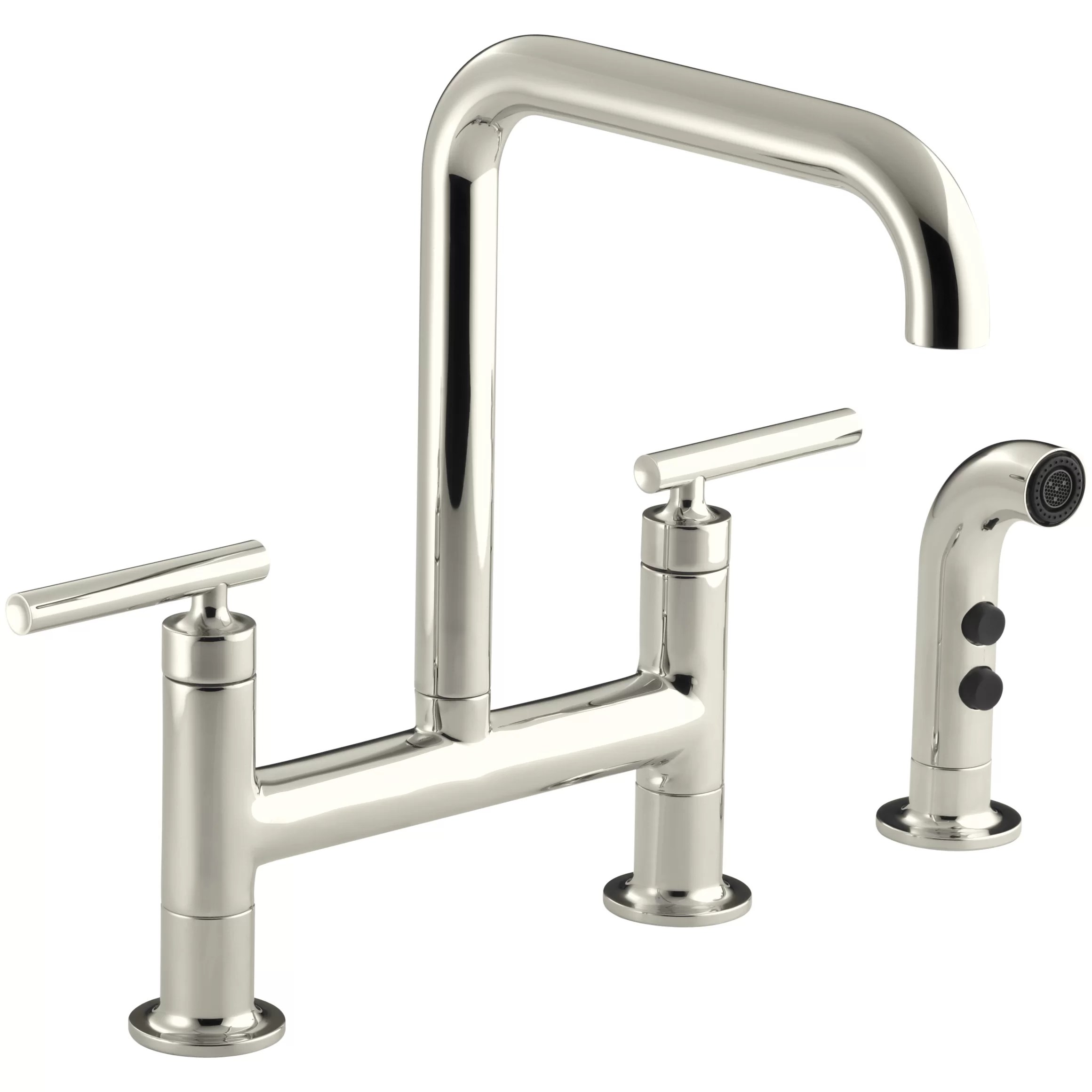 Kohler Purist Deck Mount Kitchen Sink Faucet  Reviews