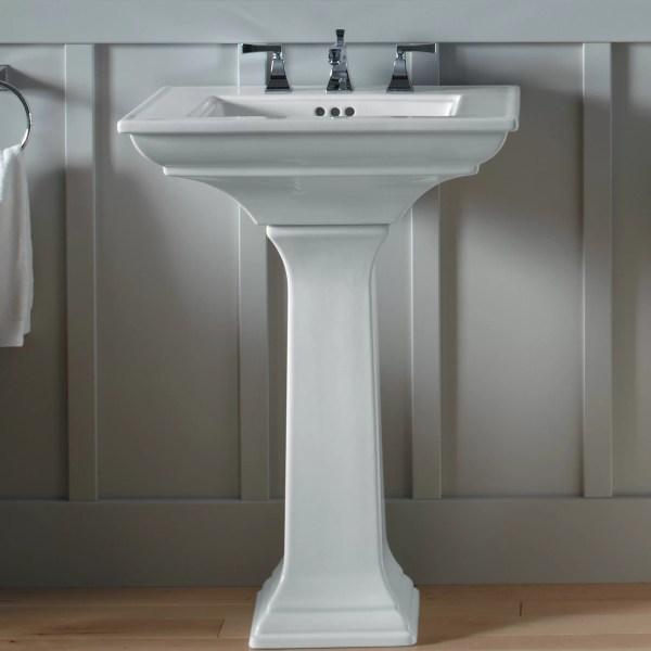 Kohler Memoirs Stately Pedestal Sink 24