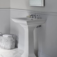 Kohler Memoirs Bathroom Sink Pedestal & Reviews | Wayfair