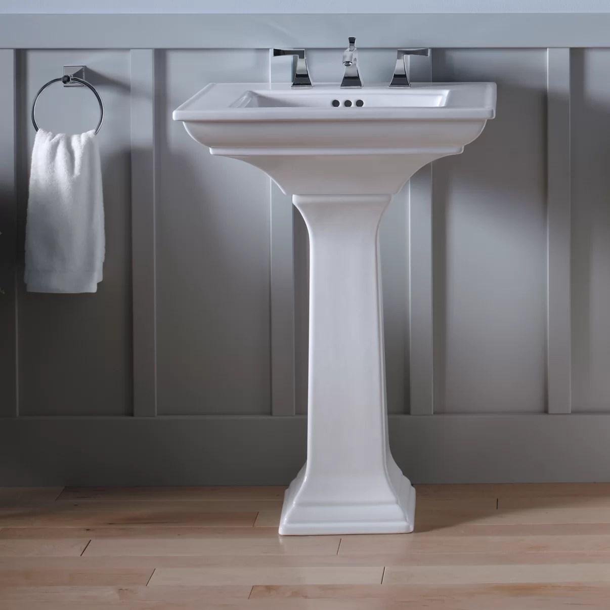 Kohler Memoirs Bathroom Sink Pedestal & Reviews