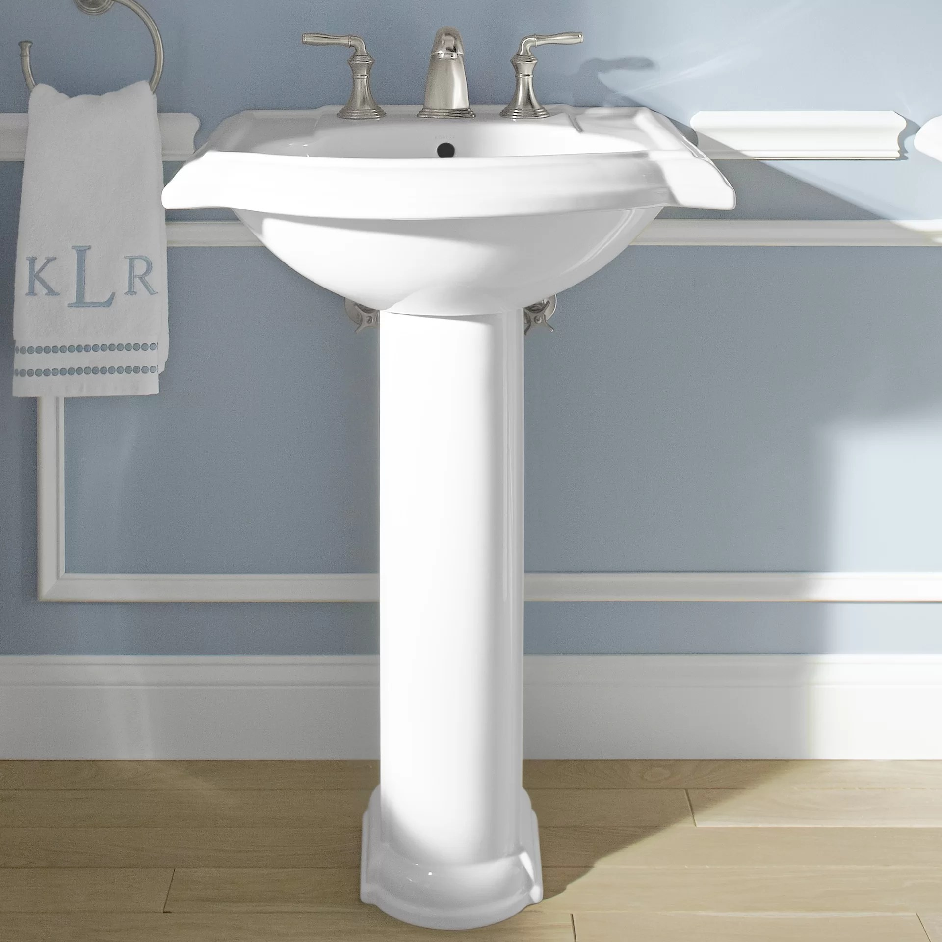 Kohler Devonshire Bathroom Sink with Single Faucet Hole