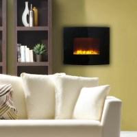 Estate Designs Flat Panel Wall Mount Electric Fireplace ...