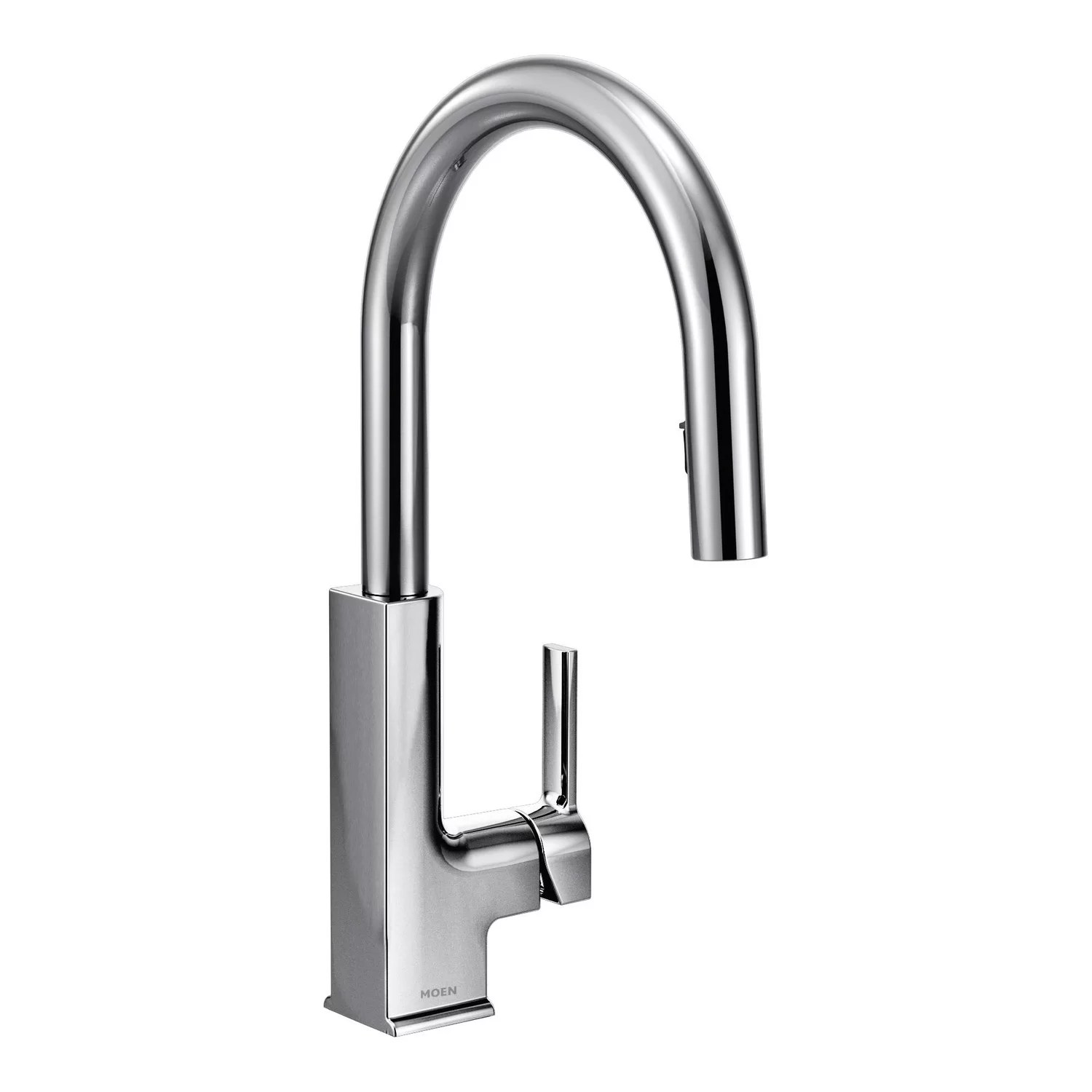 moen hands free kitchen faucet cost of new sto single handle deck mount and reviews