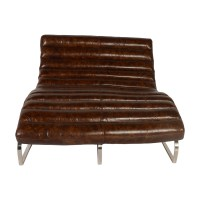 Lazzaro Leather Perici Leather Double Chaise Lounge | Wayfair