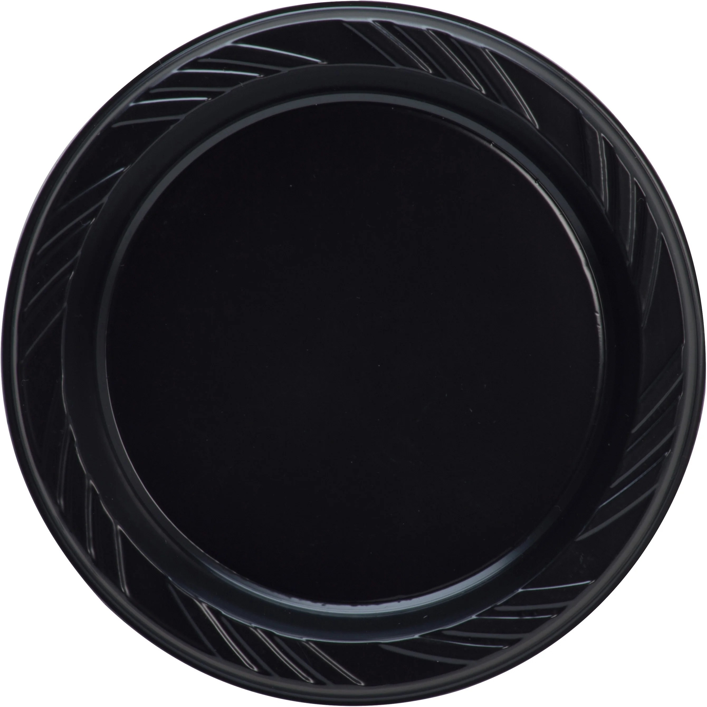 Genuine Joe Round Plastic Plates
