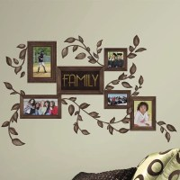 Room Mates Deco 50 Piece Family Frames Wall Decal ...
