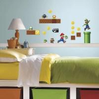 Room Mates Nintendo 45 Piece Super Mario Wall Decal ...