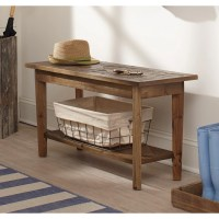 Alaterre Renewal Reclaimed Wood Entryway Bench & Reviews ...