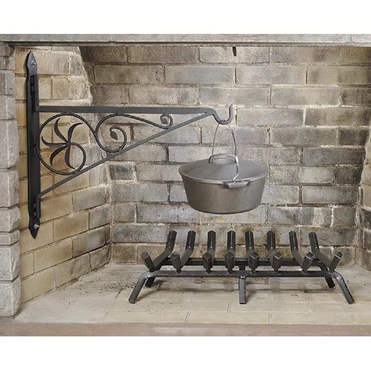 Minuteman Swivel Arm Fireplace Crane Amp Reviews Wayfair