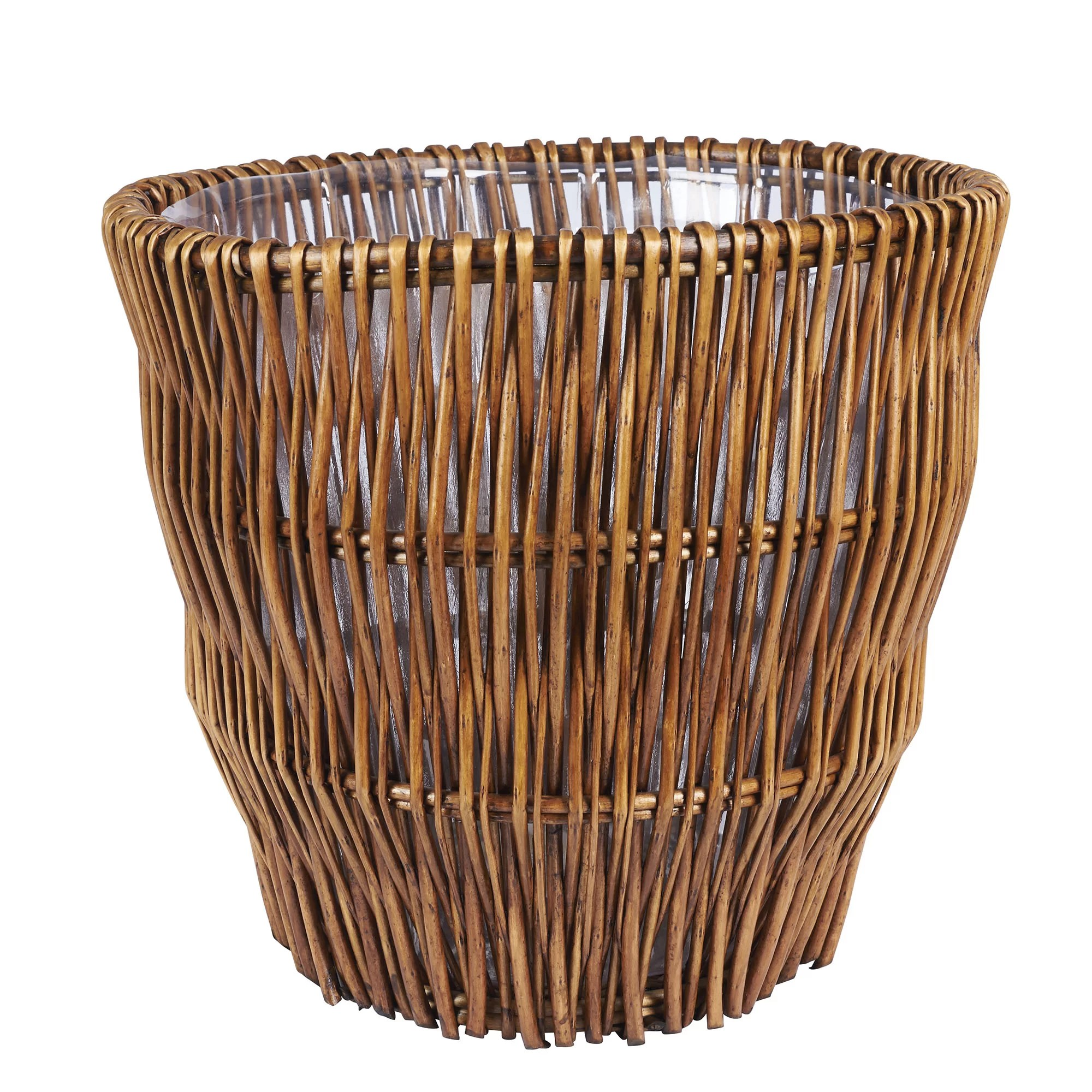Wicker Kitchen Trash Cans Homcom 30l Kitchen Trash Can Automatic