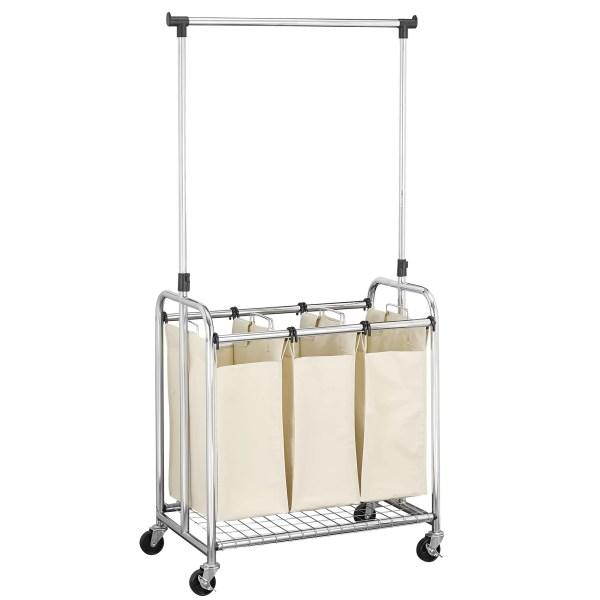 Household Essentials 3 Bag Laundry Sorter