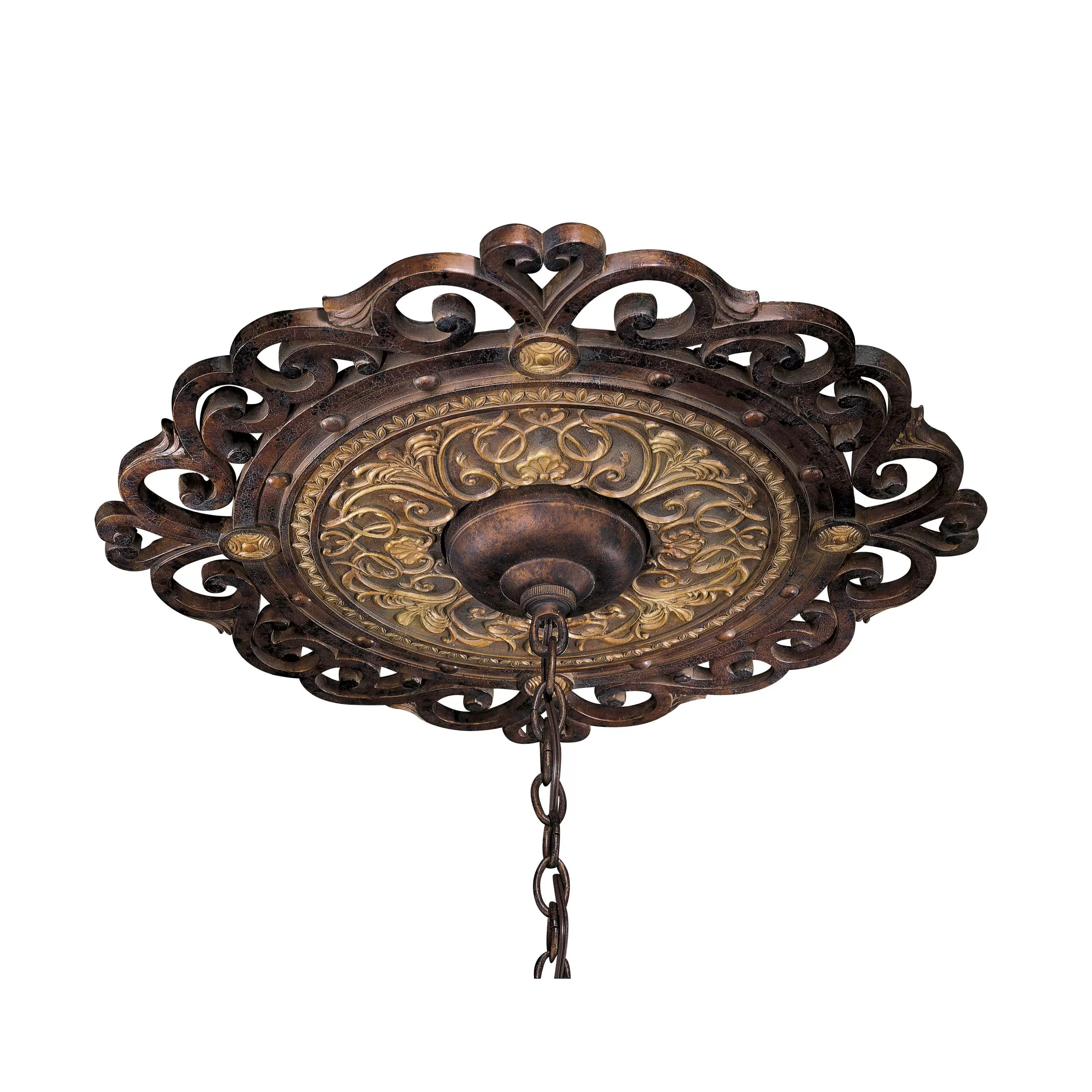 Metropolitan by Minka Zaragoza Ceiling Medallion in Golden
