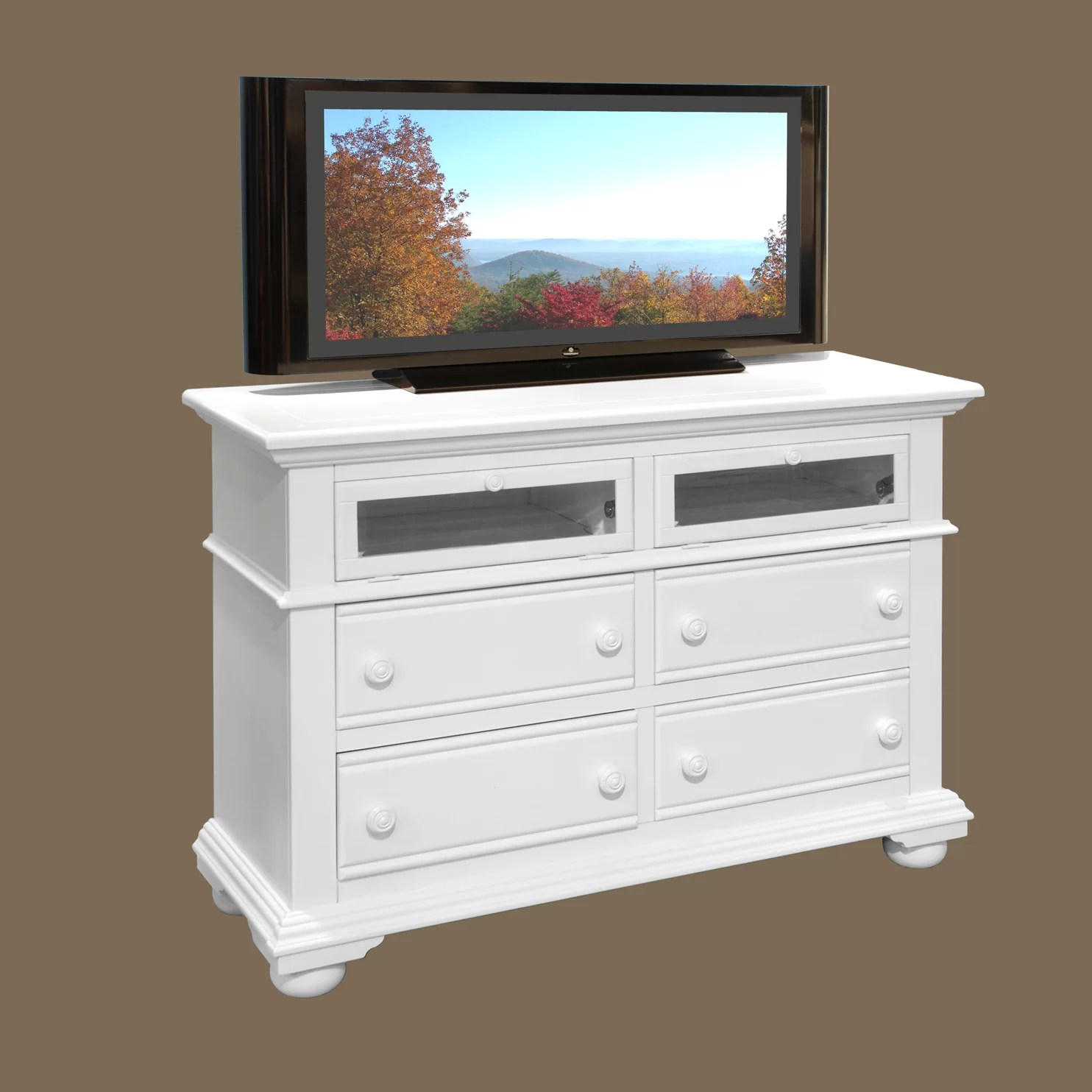 American Woodcrafters Cottage Traditions 4 Drawer Media Dresser  Reviews  Wayfair