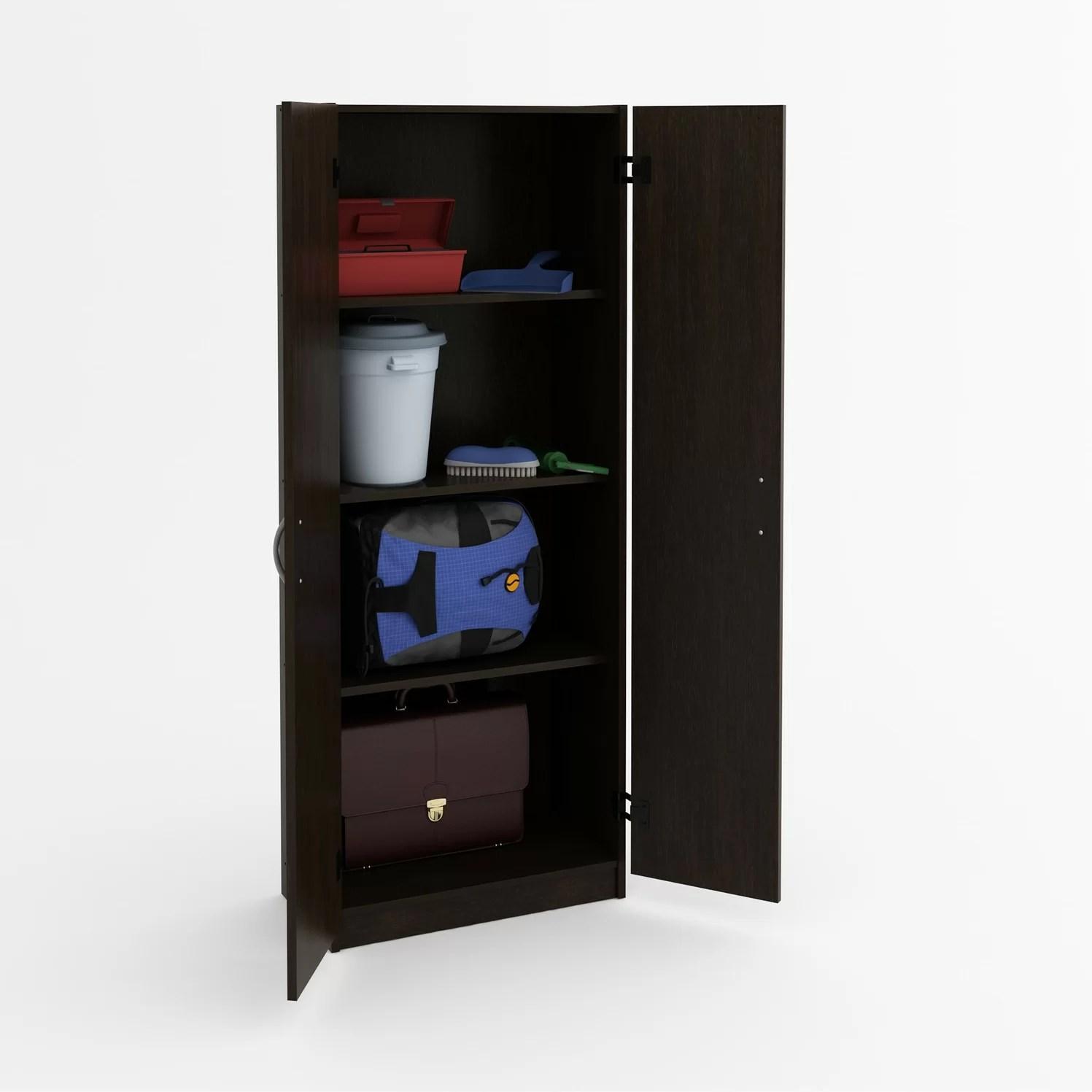 Ameriwood 2 Door Storage Cabinet  Reviews  Wayfair