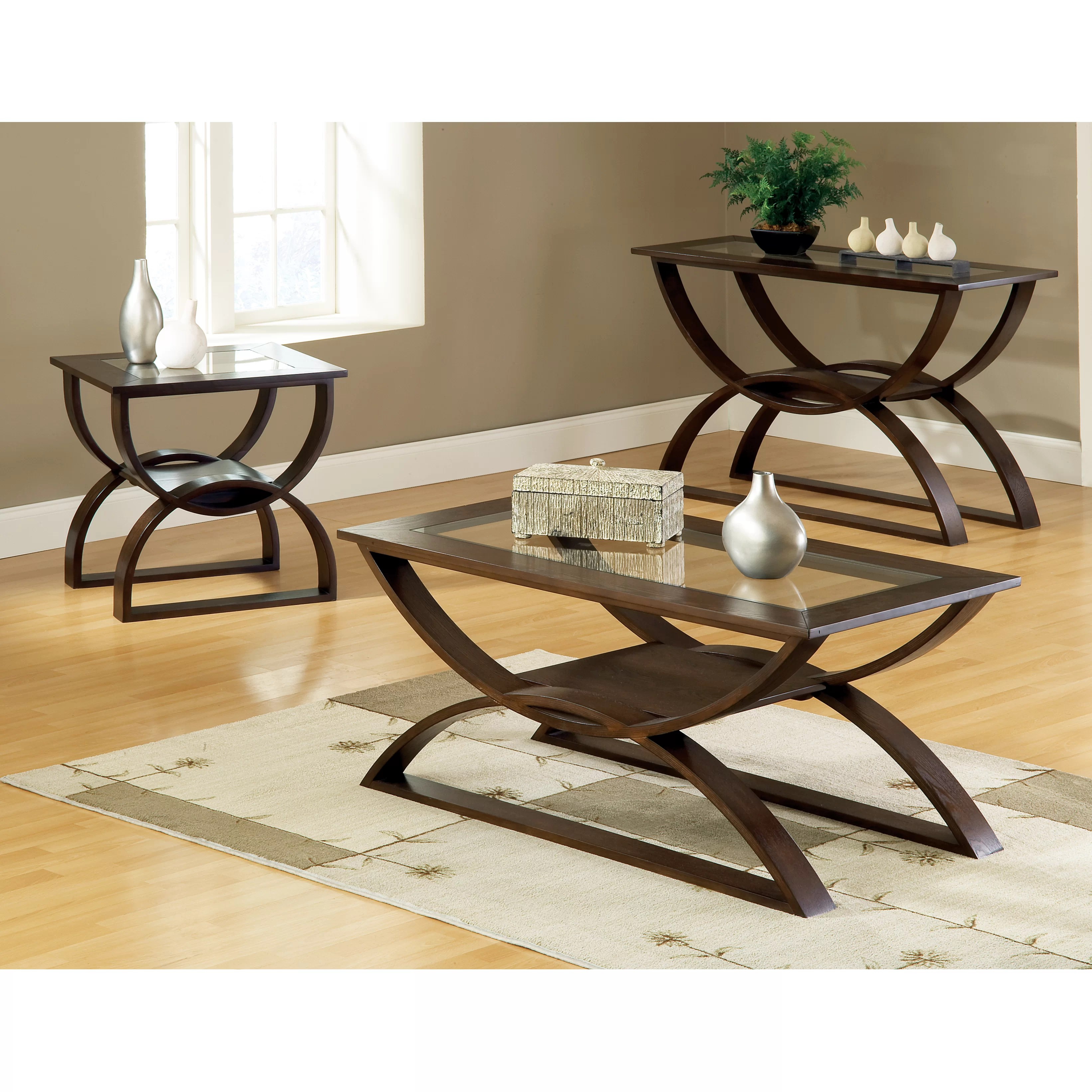steve silver dylan sofa table who makes arhaus leather sofas furniture console and reviews wayfair