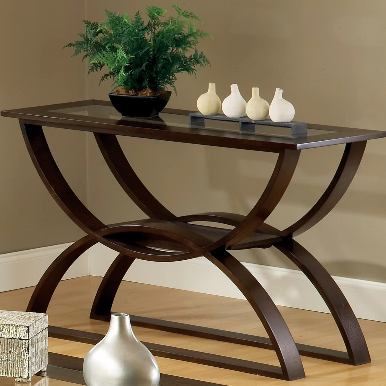steve silver dylan sofa table modern sleeper sale furniture console and reviews wayfair