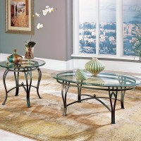 Steve Silver Furniture Madrid Coffee Table Set & Reviews ...