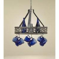 Hi-Lite Napa Hanging Pot Rack with Light & Reviews | Wayfair