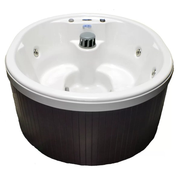 Home And Garden Spas 5-person 14-jet Oval Spa With Waterfall 110v Gfci Cord &
