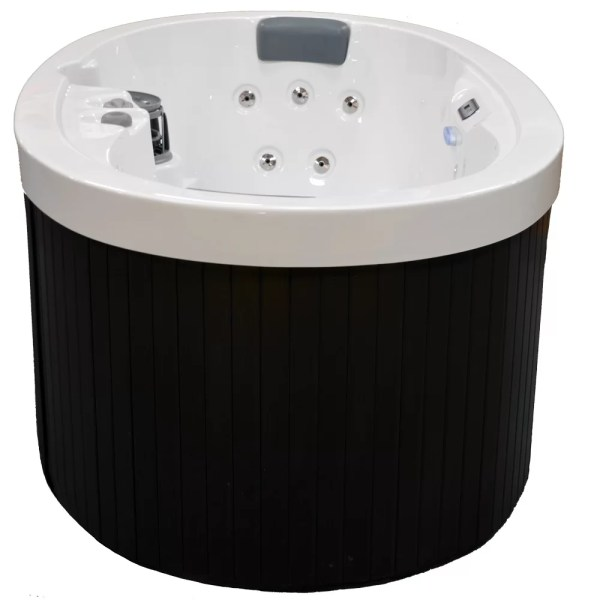 Home And Garden Spas 2-person 13-jet Oval Spa With Waterfall &