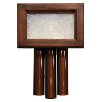 Heath-Zenith Wired Door Chime with Solid Beech Mahogany ...