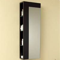 "Fresca 13.75"" x 39.25"" Bathroom Linen Cabinet & Reviews ..."