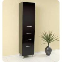 "Fresca 15.75"" x 68"" Bathroom Linen Cabinet & Reviews | Wayfair"