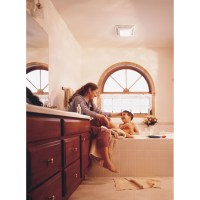 Broan 70 CFM Bathroom Exhaust Fan with Light & Reviews ...
